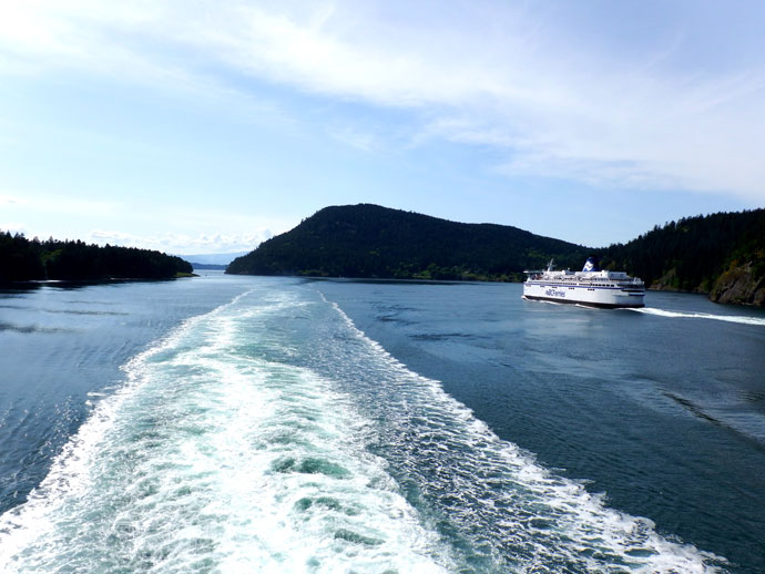 Active Pass BC Ferries