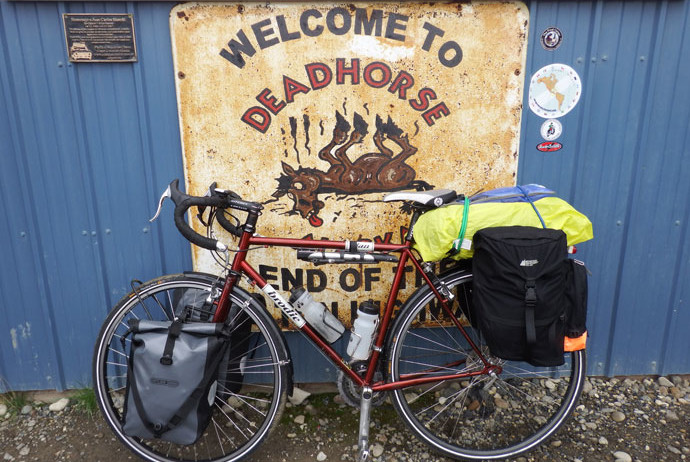 Deadhorse End of the Dalton Highway