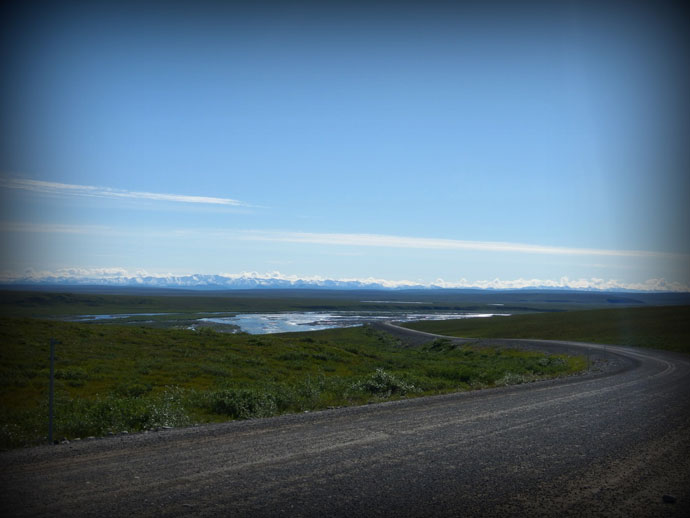 Blue Bird Day on the Dalton Highway