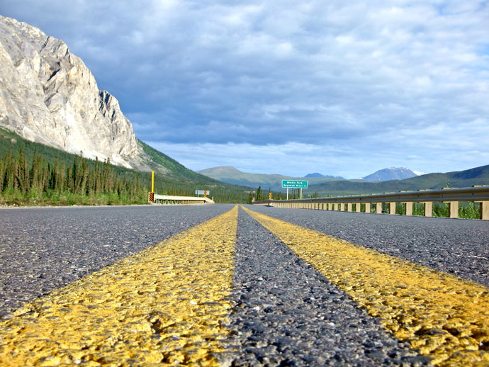 The end of my Dalton Highway ride